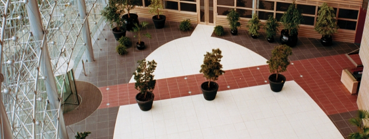 The Atrium - aerial view